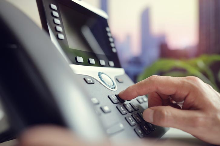 VoIP phone system example 2